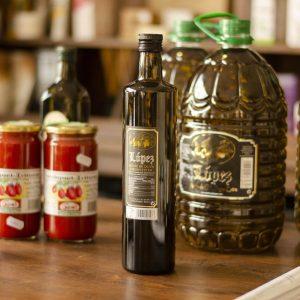 Aceite de oliva virgen extra López