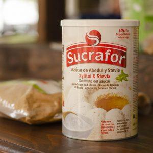 Azucar de abedul y Stevia Sucrafor